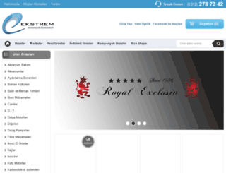 ekstremakvaryum.com.tr screenshot