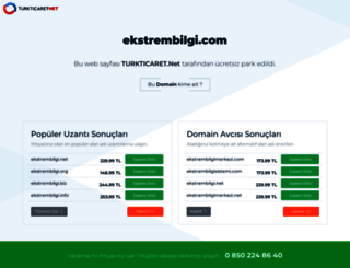 ekstrembilgi.com screenshot