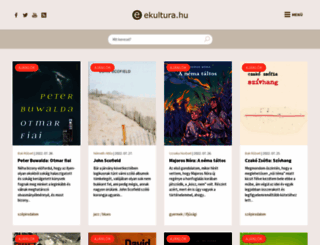 ekultura.hu screenshot