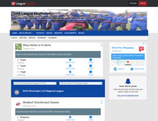 ekurhuleni.leaguerepublic.com screenshot