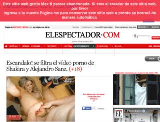 el-espectador-com.infored.mx screenshot