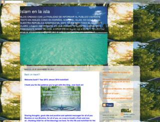 el-islamenlaisla.blogspot.com screenshot