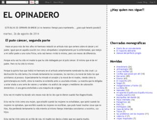 el-opinadero.blogspot.com screenshot