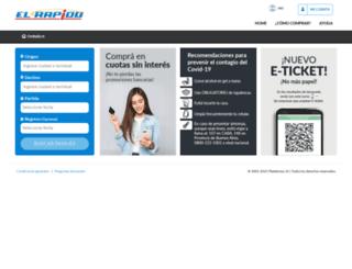 el-rapido.plataforma10.com screenshot