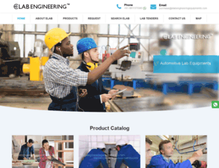elabengineeringequipments.com screenshot