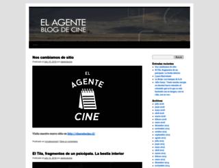elagentecine.wordpress.com screenshot