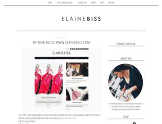 elainebiss.blogspot.com screenshot
