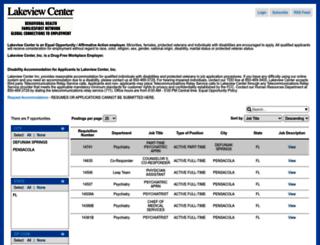 elakeviewcenter.balancetrak.com screenshot