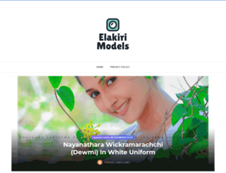 elakirimodels.com screenshot