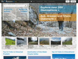 elanadventures.com screenshot