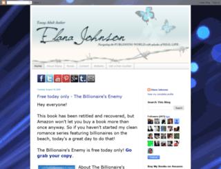elanajohnson.blogspot.com screenshot