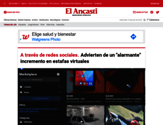 elancasti.com.ar screenshot