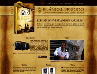 elangelperdido.com screenshot