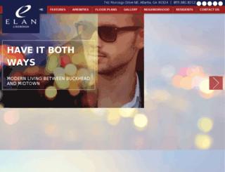 elanlindbergh.standingdog.com screenshot