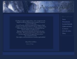 elarqueroazul.com screenshot