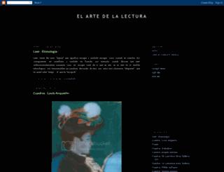 elartedelalectura.blogspot.com.es screenshot