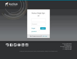 elastigirl.ruckuswireless.com screenshot