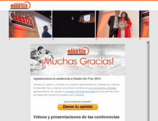 elastixbefree.com.mx screenshot