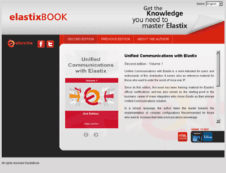 elastixbook.com screenshot