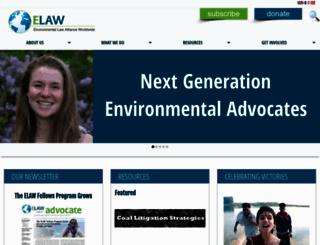 elaw.org screenshot