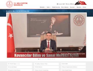 elazig.meb.gov.tr screenshot