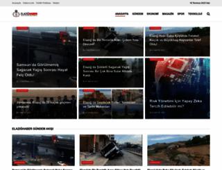 elazighaber.com.tr screenshot