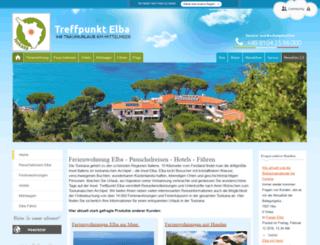 elba-appartements.de screenshot