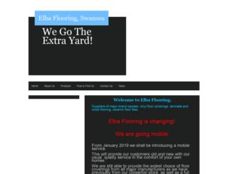 elbaflooring.co.uk screenshot