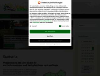 elbe-elster.de screenshot