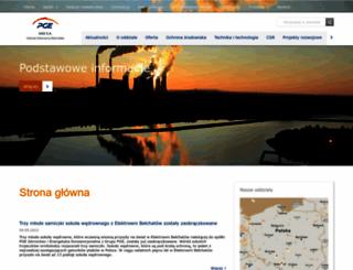 elbelchatow.pgegiek.pl screenshot