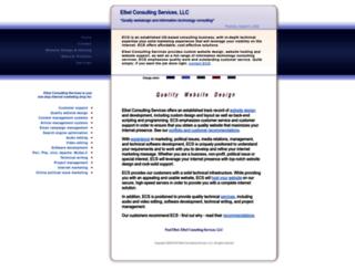 elbelconsultingservices.com screenshot