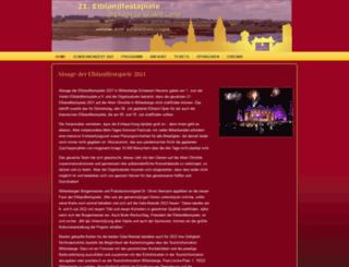 elblandfestspiele.de screenshot