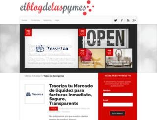 elblogdelaspymes.com screenshot