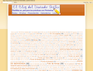 elblogdeldisenadorgrafico.blogspot.mx screenshot