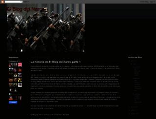 elblogdelnarco.blogspot.com screenshot