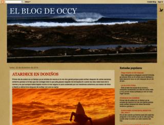 elblogdeoccy.blogspot.com screenshot