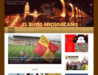 elbuhomichoacano.com.mx screenshot