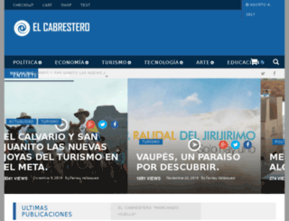 elcabrestero.com.co screenshot