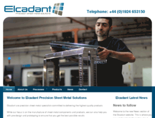elcadant.co.uk screenshot