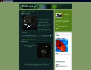 elcadesigns.blogspot.com screenshot