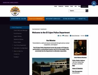 elcajonneighbors.org screenshot