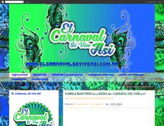 elcarnavalseviveasi.blogspot.com screenshot