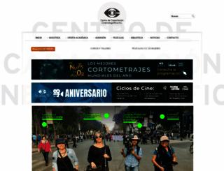 elccc.com.mx screenshot