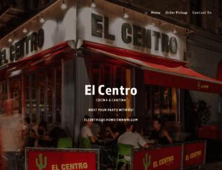 elcentro-nyc.com screenshot