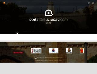 elche.portaldetuciudad.com screenshot