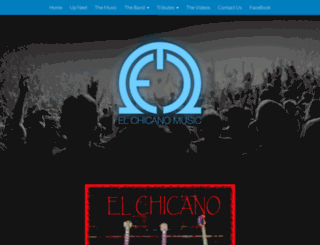 elchicanomusic.com screenshot