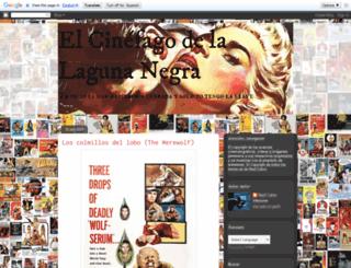 elcinefagodelalagunanegra.blogspot.com screenshot