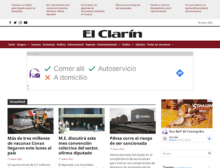 elclarin.net.ve screenshot