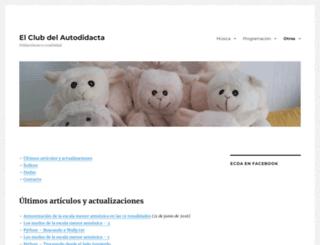 elclubdelautodidacta.es screenshot