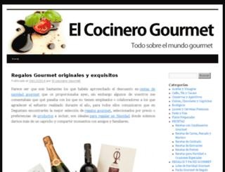 elcocinerogourmet.degustam.com screenshot